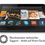 Amazon Mayday für Kindle Fire HDX
