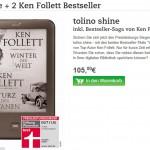 Tolino Shine Ken Follett Bundle