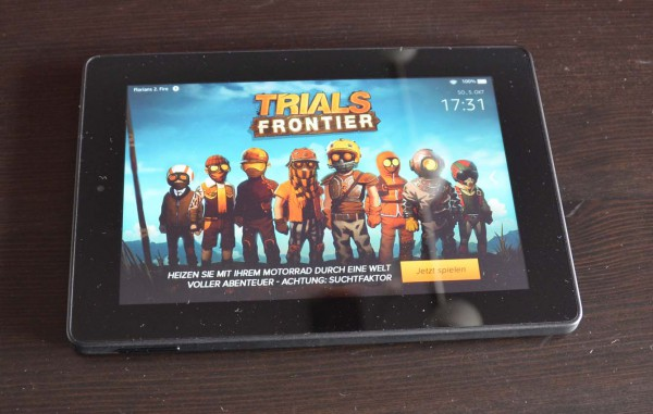 Fire HD 7 Tablet Front